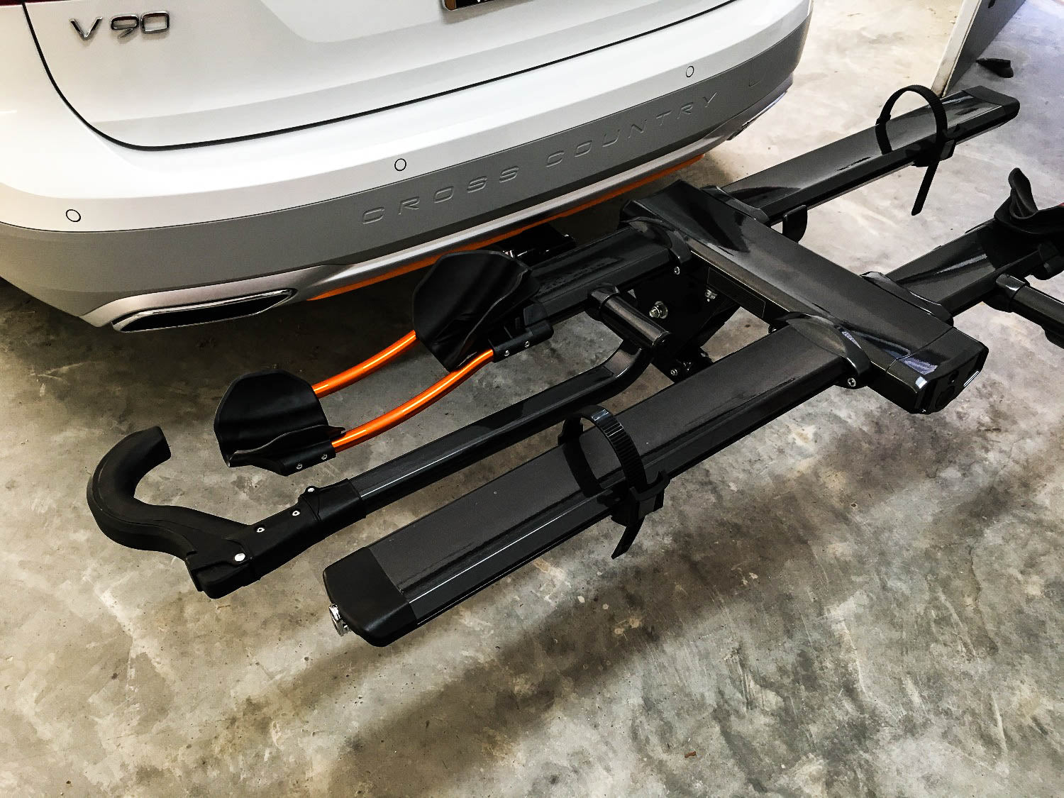 Volvo V90 Hitch Made To Be Hidden Tailored Trailer 350 Wiring Harness 2017 Present Also Fits Cross Country