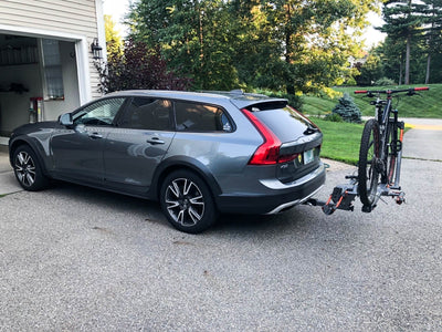 Volvo V90 Hitch - MADE to be HIDDEN  Tailored Volvo V90 trailer hitch