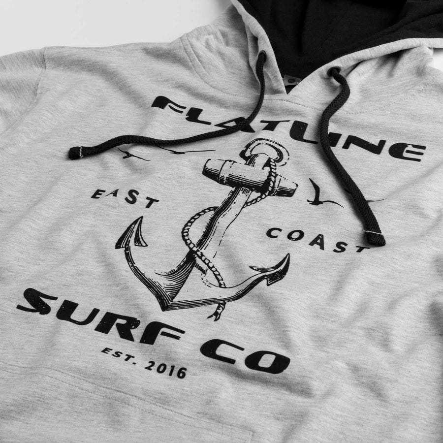 Light Gray Anchor Hoodie