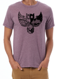Black Outside: Owl T-shirt