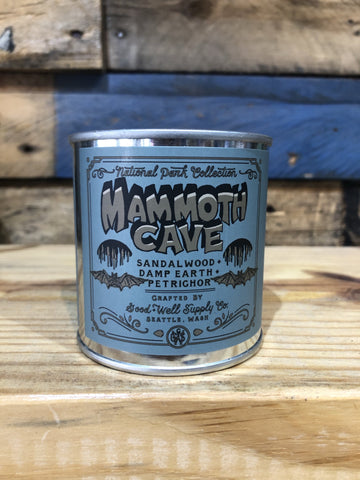 Good & Well Supplies- Mammoth Cave Candle