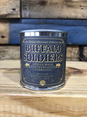 Good & Well Supplies- Buffalo Soldiers Candle