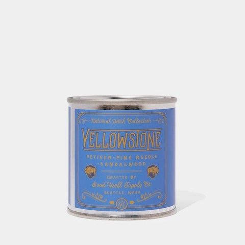 Good and Well Supply - Yellowstone Candle- Vetiver, Pine Needle,Sandalwood