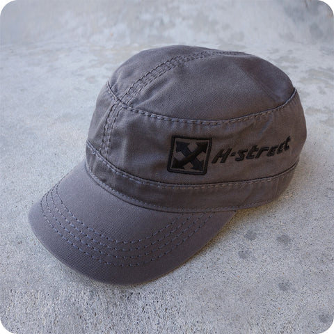 MIL CAP WITH EMBROIDERED LOGO