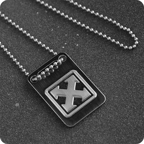 H-STREET MARK LOGO DOG TAG