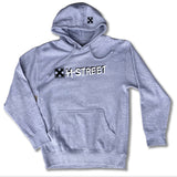 OG MARK LOGO </p> HEATHER GREY PULLOVER HOODIE