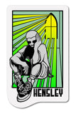MATT HENSLEY STAINED GLASS DECAL