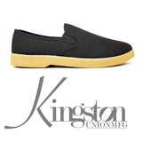 KINGSTON UNION MFG </p>SLIP-ON BLACK WINO