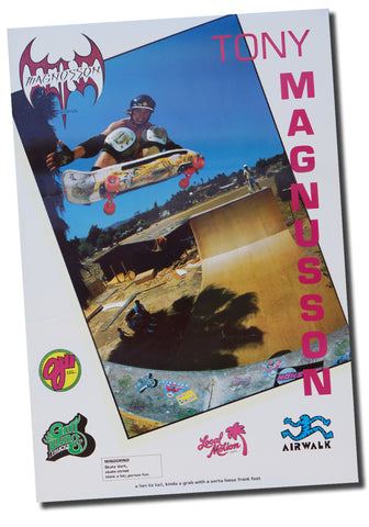 TONY MAGNUSSON <p>80'S POSTER