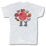 THE MAGNIFICENT 7 </p> LOGO TEE