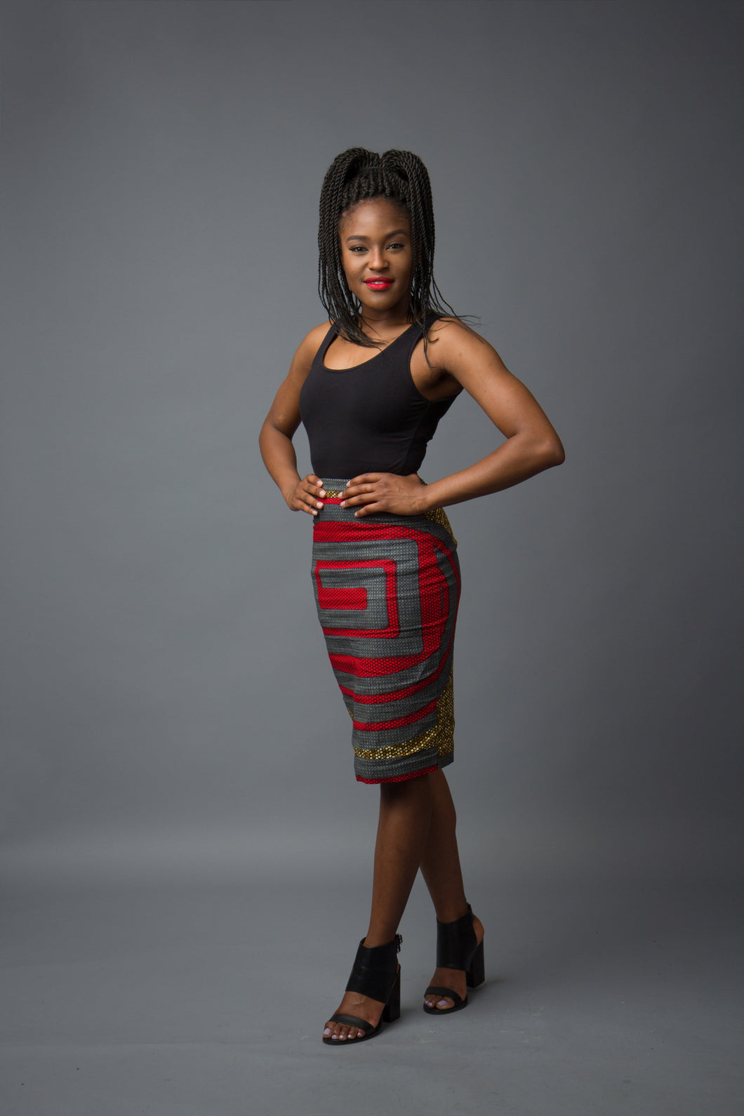 Nefertiti Pencil Skirt