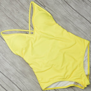 2018 Backless Highcut Swimsuit - 7 Colours