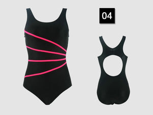 Riseado Sport Backless Swimsuits - 12 Colours