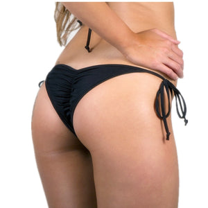 Cheeky Brazilian Bikini Bottom with Ruched Back or Thong Back - 8 Colours/Styles