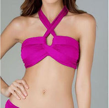 Cut Out Strappy Bikini Top - 4 Colours