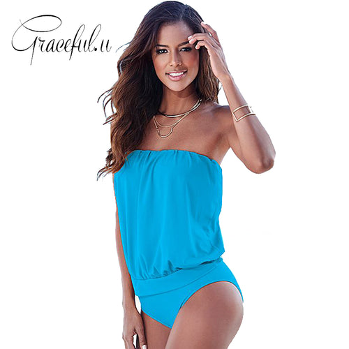 Strapless Classic One Piece - 6 Colours