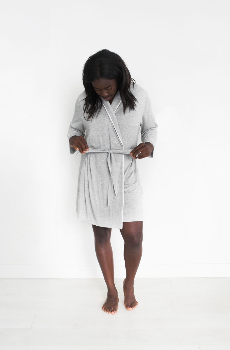 Parker Robe - Grey