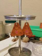 Personalized Leather Earrings