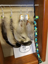 Di Feather Earrings Style IV