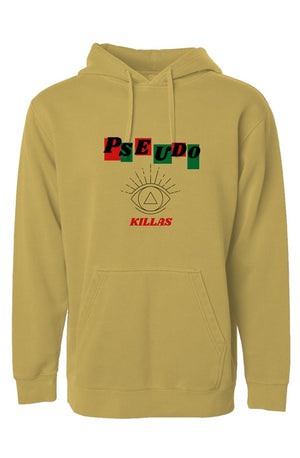 No Pseudo(Independent Pigment Dyed Hoodie)