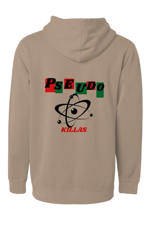 Pseudo Killas(Independent Pigment Dyed Hoodie)