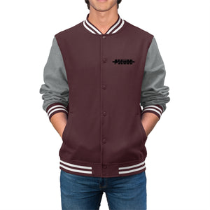 No Pseudo(Men's Varsity Jacket)