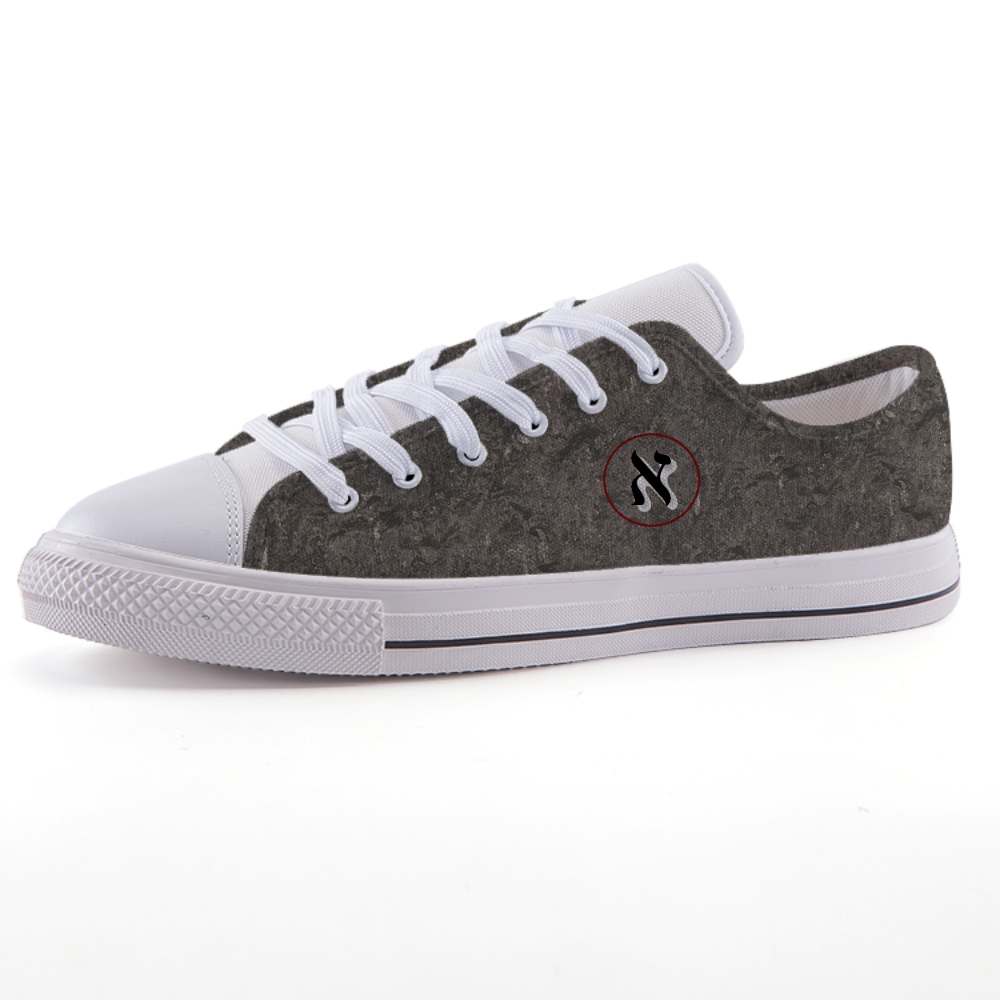Alef( Low-top fashion canvas shoes)