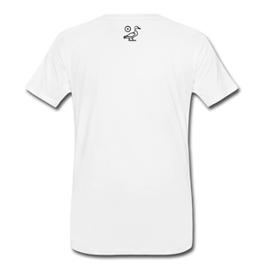 The Movement (Men's Premium Organic T-Shirt) - white