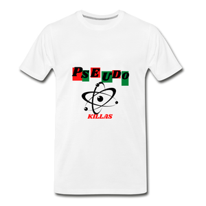 Pseudo Killas(Men's Premium T-Shirt) - white
