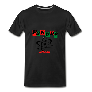 Pseudo Killas(Men's Premium T-Shirt) - black
