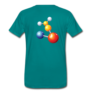 Pseudo Killas(Men's Premium T-Shirt) - teal