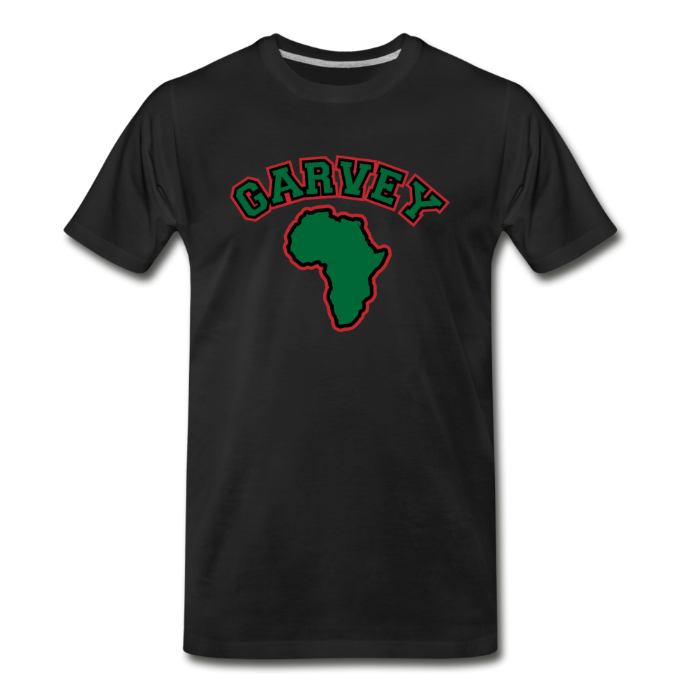 Marcus Garvey(Men's Premium T-Shirt) - black