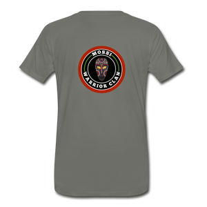 Mossi Clan(Men's Premium T-Shirt) - asphalt gray