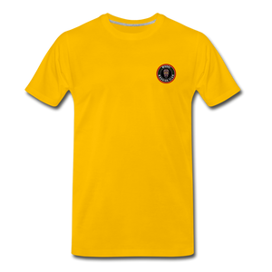 Mossi Clan(Men's Premium T-Shirt) - sun yellow