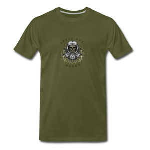 Space Age Voodo(Men's Premium T-Shirt) - olive green