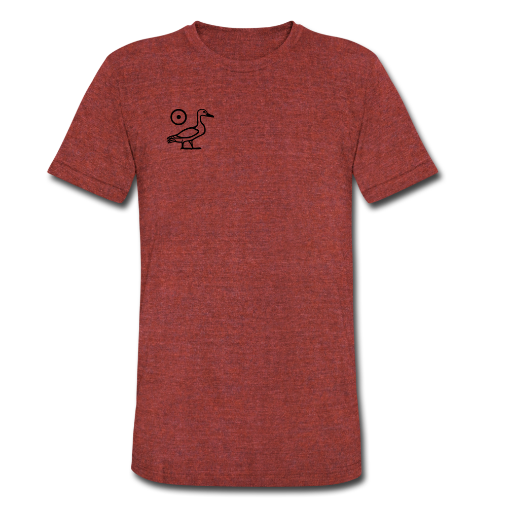 SaRa(Unisex Tri-Blend T-Shirt) - heather cranberry