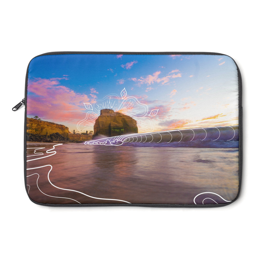 Sunset Grooves Laptop Case