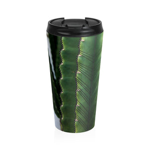 Cactus (Black) Stainless Steel Travel Mug