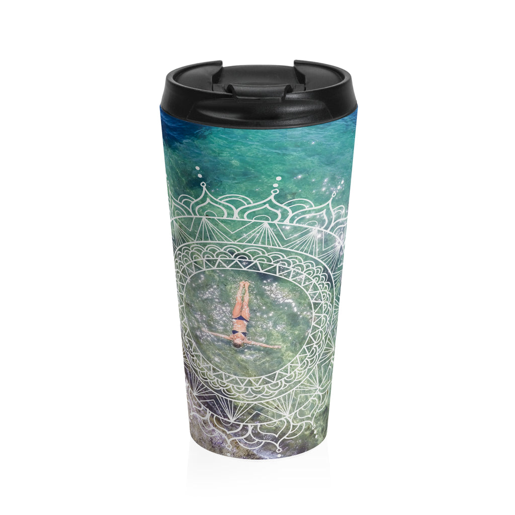 Bird's Eye Stainless Steel Travel Mug