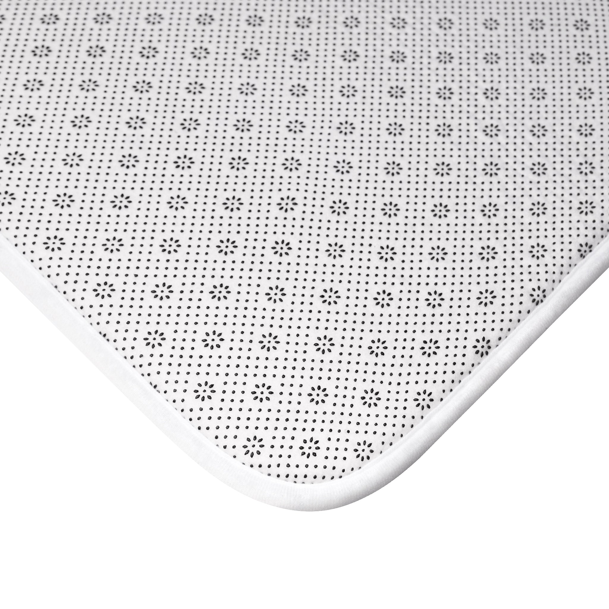 Lookin' Sharp Bath Mat