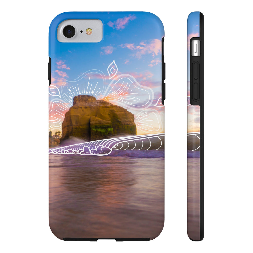 Sunset Grooves - Phone Case
