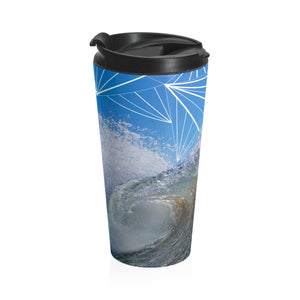 Pitted Stainless Steel Travel Mug
