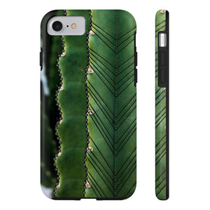 Cactus (Black) - Phone Case