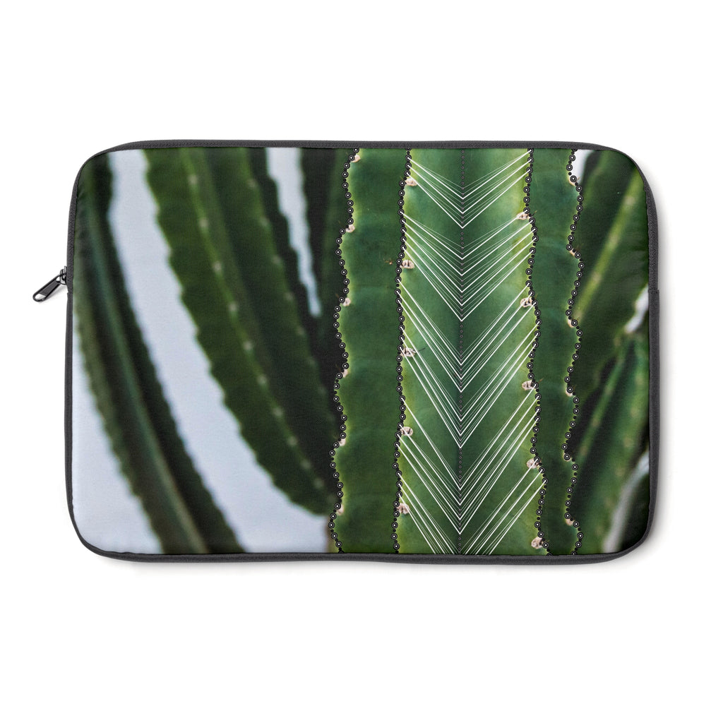 Cactus (White) Laptop Sleeve