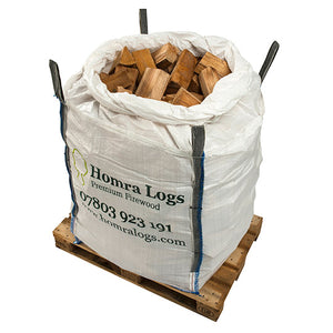 25cm KILN-DRIED HARDWOOD LOGS