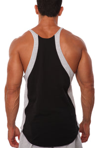 Two-Tone Stringer Tank Top - 3150