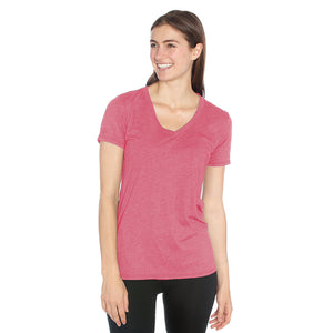 Dove V-Neck Tee in Organic Cotton & Recycled Plastic