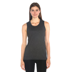 Magpie Muscle Tank in Organic Cotton & Recycled Plastic