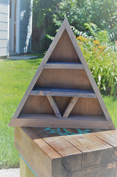 Meditation Life Triangle Altar Shelf