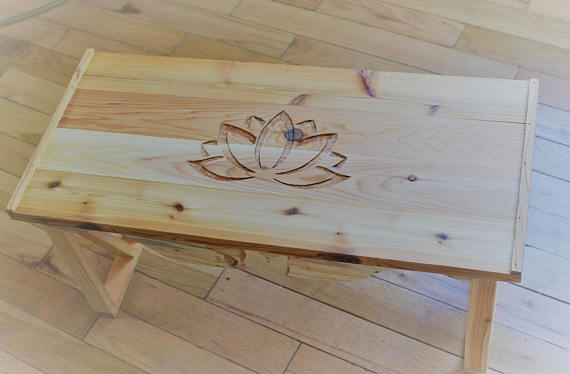 Meditation Altar Table - Flower of Life